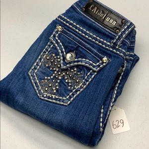 Womens LA. Idol Jeans Skinny 28x32